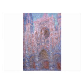 Rouen Cathedral, Symphony in Grey and Rose Postcard