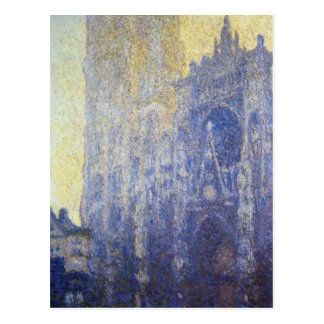 Rouen Cathedral, the Portal, Morning Effect Postcard