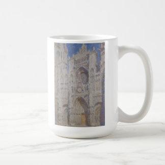 Rouen Cathedral The Portal Sunlight Coffee Mug