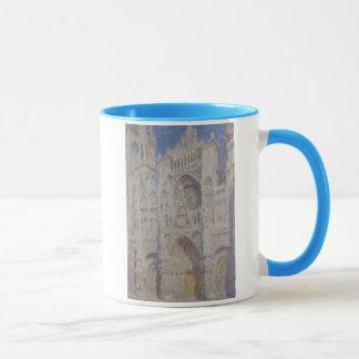 Rouen Cathedral The Portal Sunlight Mug