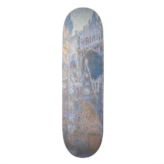 Rouen Cathedral West Facade by Claude Monet Skateboards