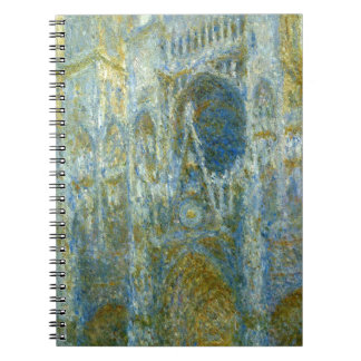 Rouen Cathedral, West Facade, Noon by Claude Monet Note Book