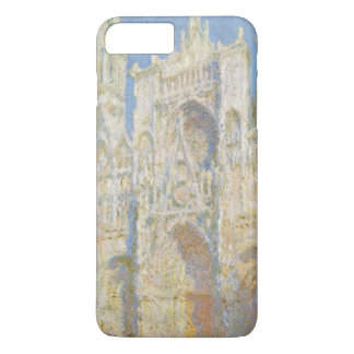 Rouen Cathedral West Facade Sunlight by Monet iPhone 7 Plus Case