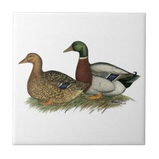 Rouen Ducks Tile