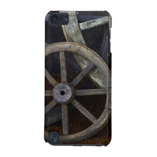 Roues rustiques sur le décor de film, Cuba Coque iPod Touch 5G