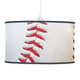 Rouge blanc de base-ball piquant l'équilibre bleu