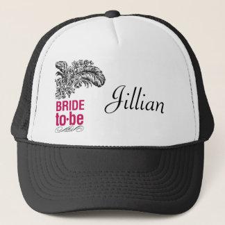 Rouge Bridal Cap