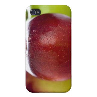 Rouge Étuis iPhone 4