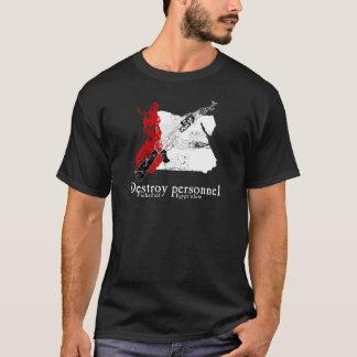 Rouge de la Finlande, blanc de l'Egypte T-shirt