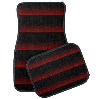 Rouge déprimé gothique tapis de voiture