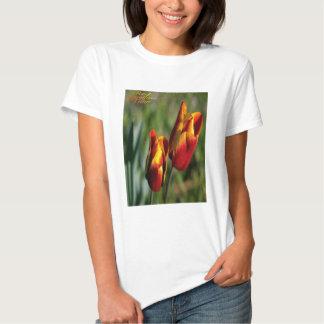 Rouge-et-jaune-tulipe, T-shirt