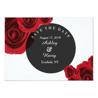 Rouge Flora Save the Dates Card