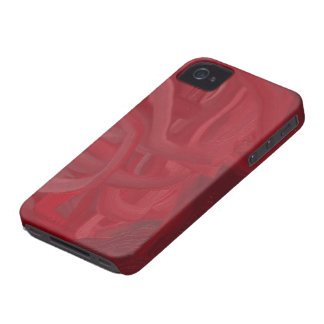 Rouge-foncé Étuis iPhone 4