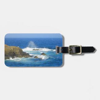 Rough Cape Neddick Coast Luggage Tag