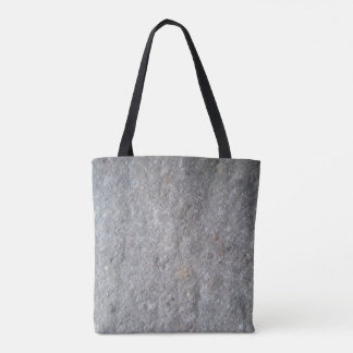 Rough cemented floor look tote bag