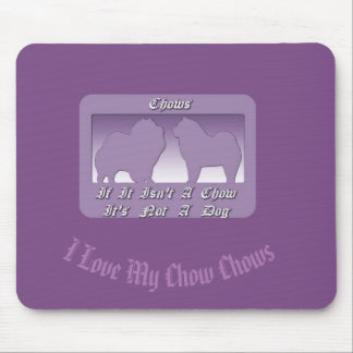 Rough Chow Smooth Chow Mouse Pad