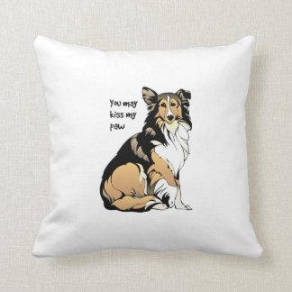 Rough Collie Aristocrat Pillow