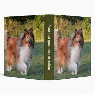 Rough Collie dog beautiful photo album, binder