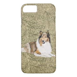 Rough Collie, Long Haired Collie iPhone 8/7 Case