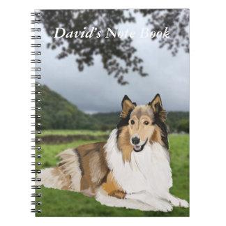 Rough Collie Notebooks