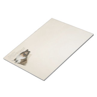 Rough Collie Notepad