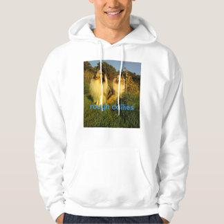 rough collies hoodie