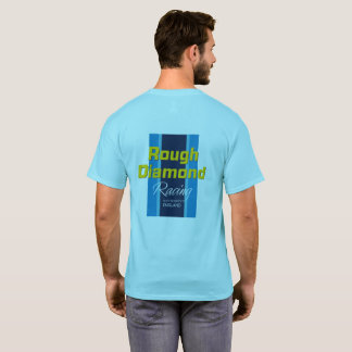 Rough Diamond Racing T shirt - blue