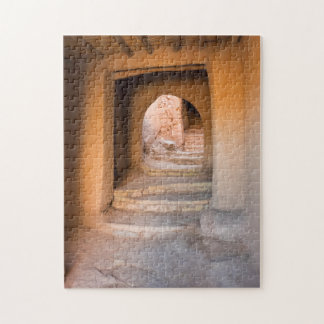Rough Dirt Staircase Jigsaw Puzzle