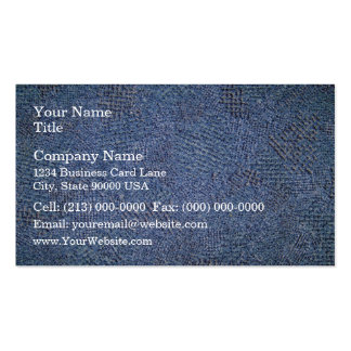 Rough Fabric Texture Business Card Template