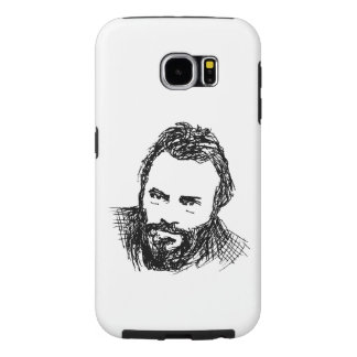 Rough Ink Sketch of Hitch Samsung Galaxy S6 Cases