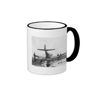 Rough Landing, 1943 Ringer Coffee Mug