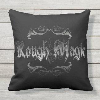 Rough Magic Throw Pillow