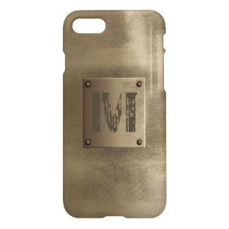 Rough Metal Bronze iPhone 8/7 Case
