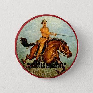 Rough Rider - Button