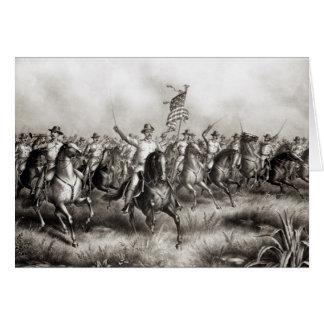 Rough Riders : Colonel Theodore Roosevelt Carte De Vœux
