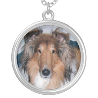 Rough Sable Collie Necklace