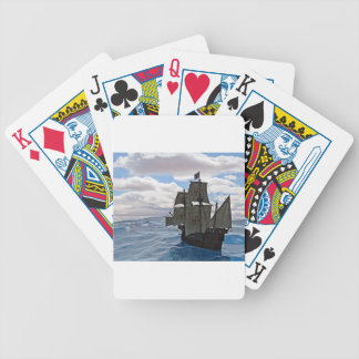 Rough Seas Ahead Bicycle Playing Cards