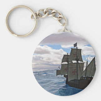 Rough Seas Ahead Keychain
