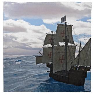 Rough Seas Ahead Napkin