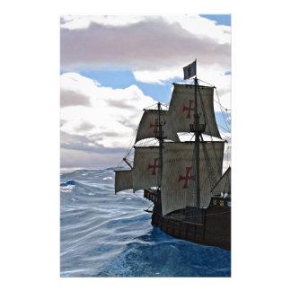 Rough Seas Ahead Stationery