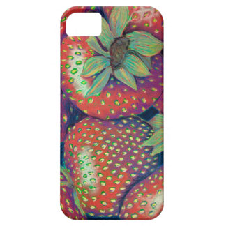 Rough Strawberries iPhone 5 Covers