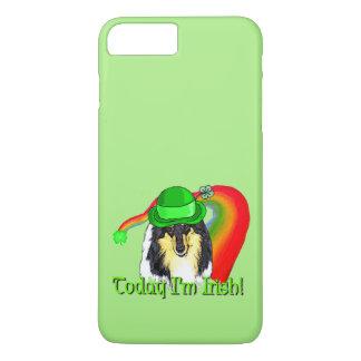 Rough Tri Collie Saint Patricks iPhone 8 Plus/7 Plus Case