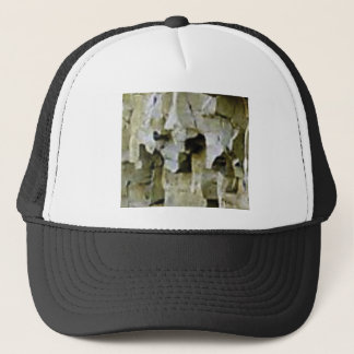 rough white rock ceiling trucker hat