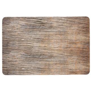 Rough Wooden Plank Floor Mat