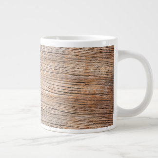 Rough Wooden Plank Large Coffee Mug