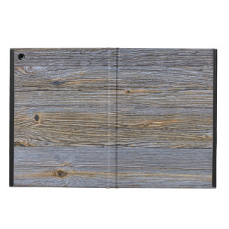 Rough wooden surface iPad air cases