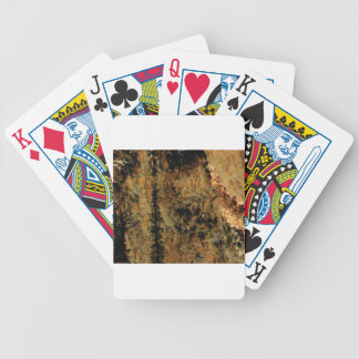 rough yellow surface bicycle playing cards