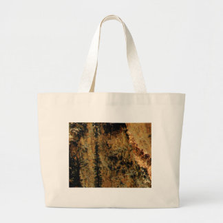 rough yellow surface large tote bag