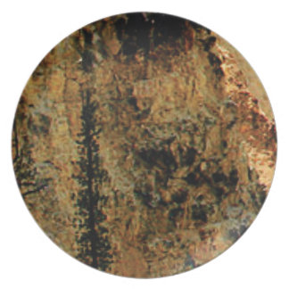 rough yellow surface plate