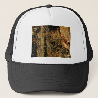 rough yellow surface trucker hat
